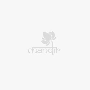 Kanchipuram Silk Buttis Light Orange Saree